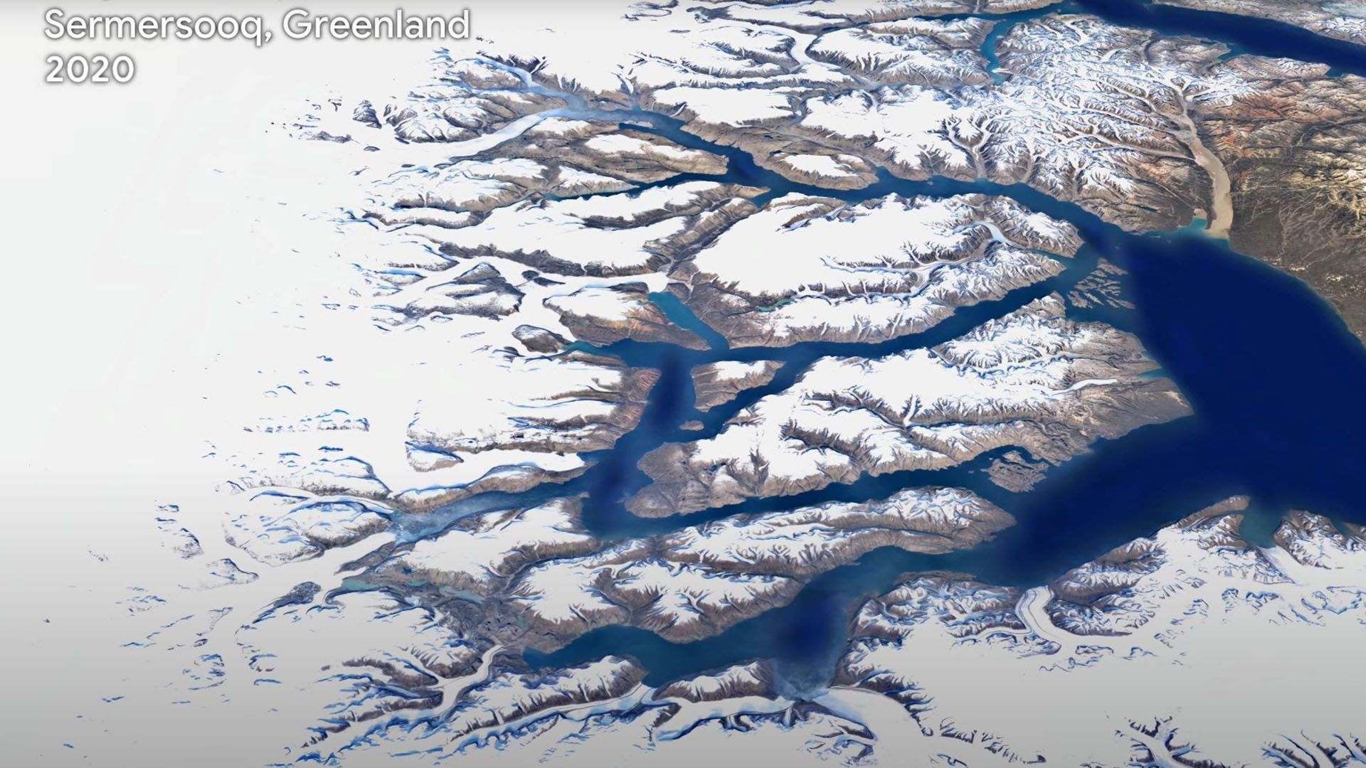 Google Earth montre 40 ans d'évolution du monde en accéléré et c'est époustouflant