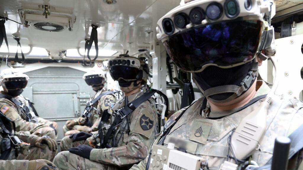 HoloLens IVAS armée