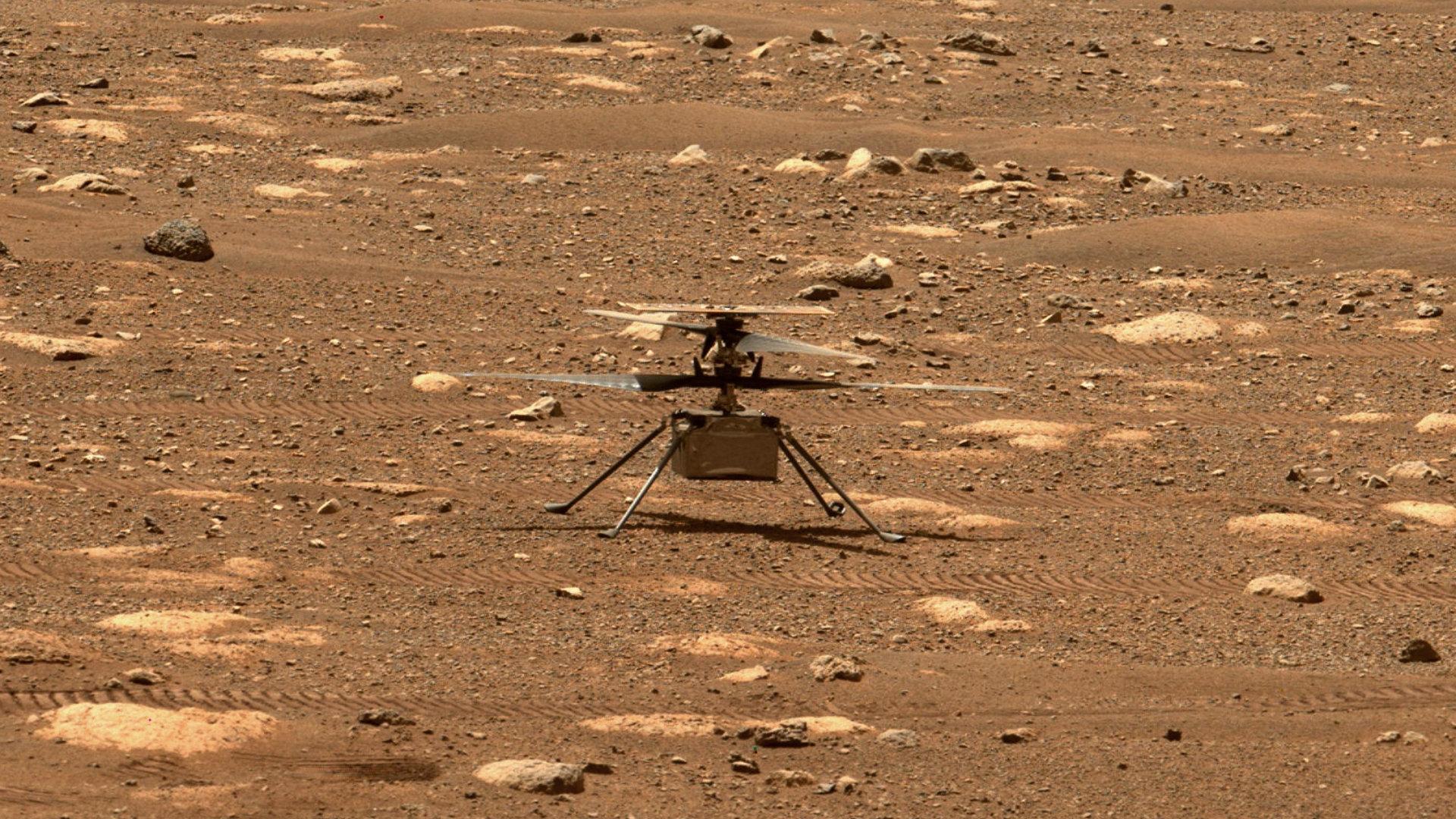 Pourquoi le premier vol de l'hélicoptère Ingenuity sur Mars est reporté