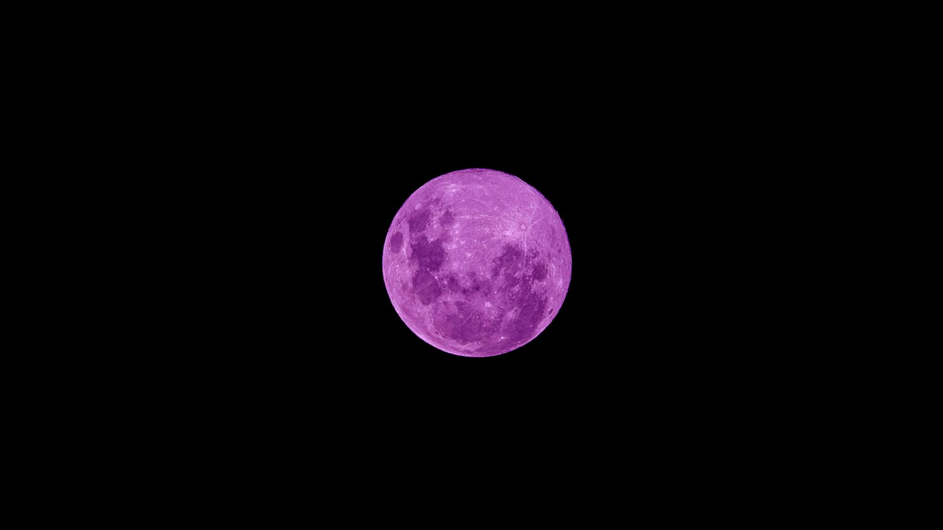 La Super Lune Rose N Est Ni Super Ni Rose