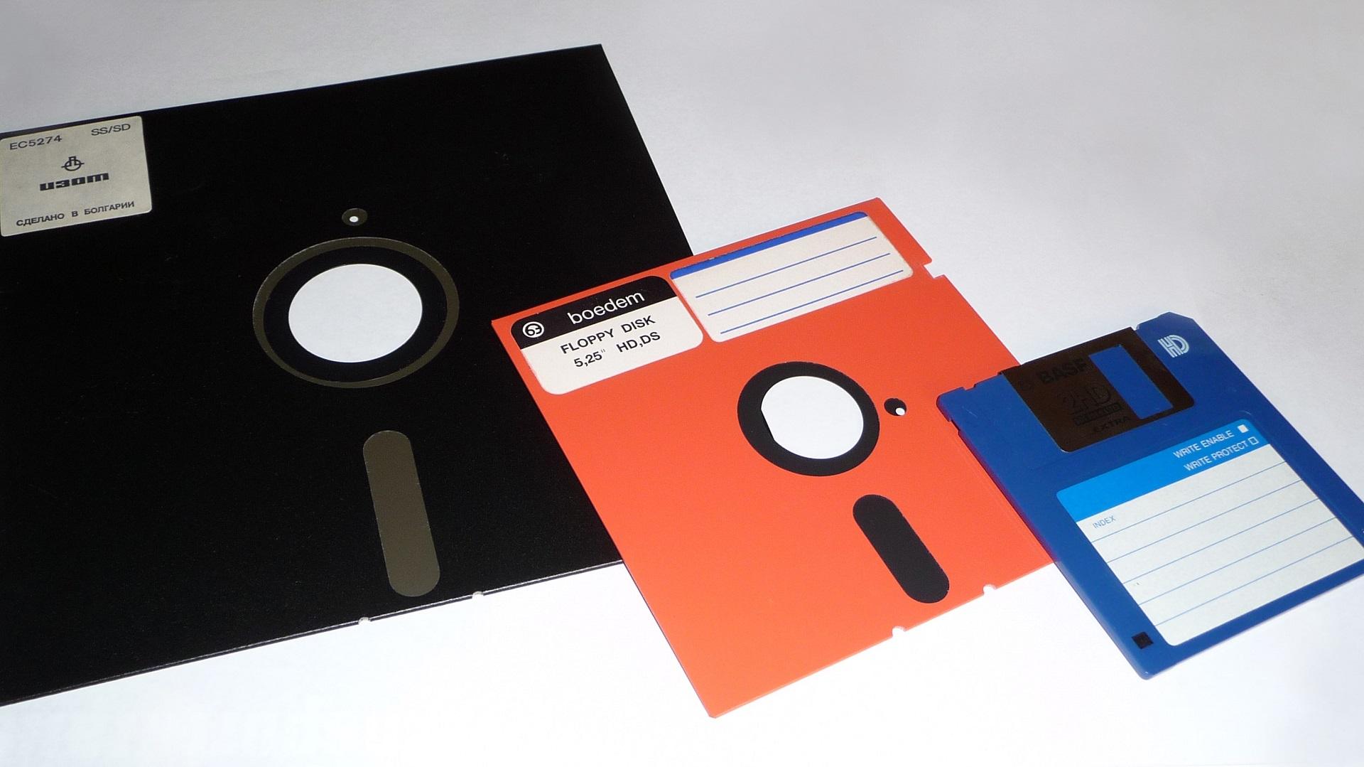La disquette est morte depuis 10 ans, mais Microsoft ne lâche pas l'affaire