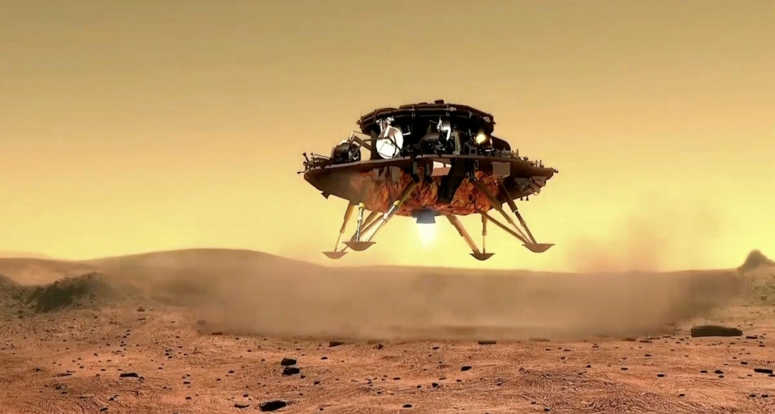 8 questions sur le rover chinois Zhurong qui a atterri sur Mars