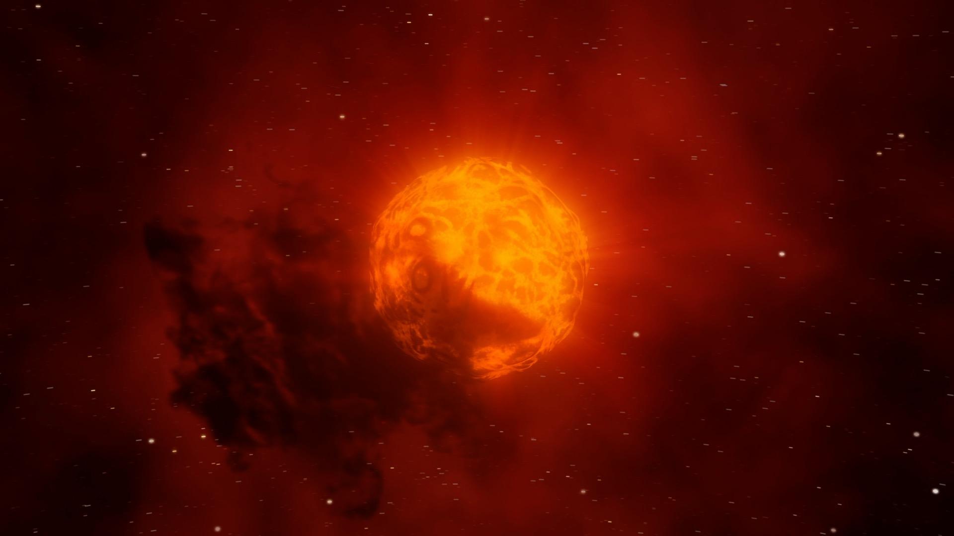 Le mystère de la perte de luminosité de l'étoile Bételgeuse est enfin résolu