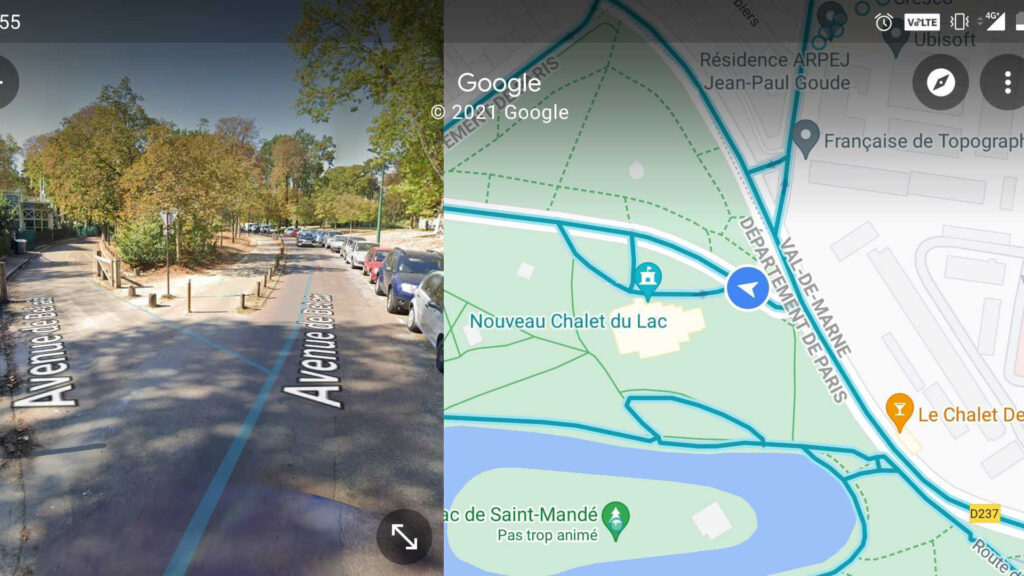 Google Maps et Street View
