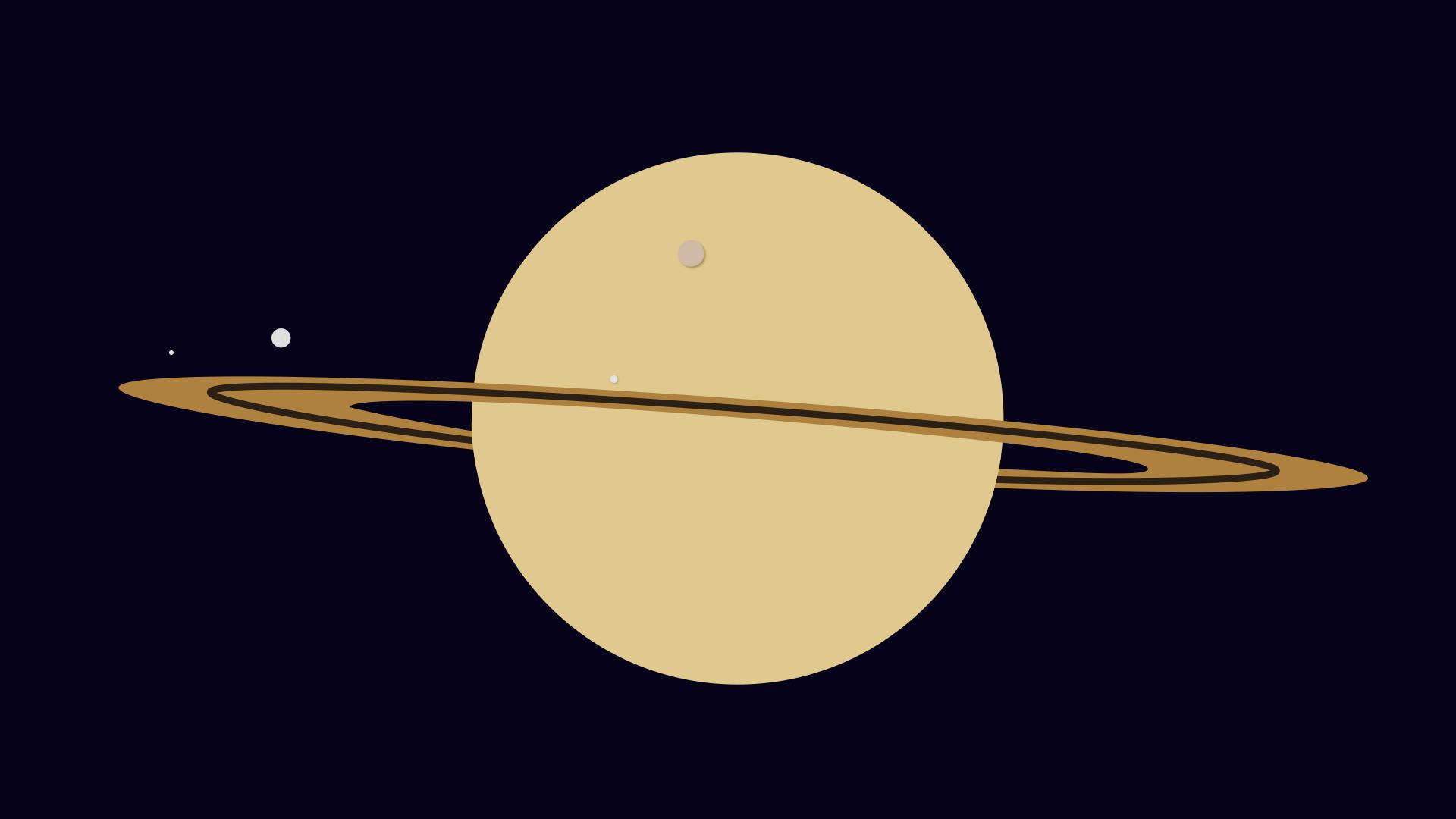 Pourquoi les lunes de Saturne se ressemblent si peu