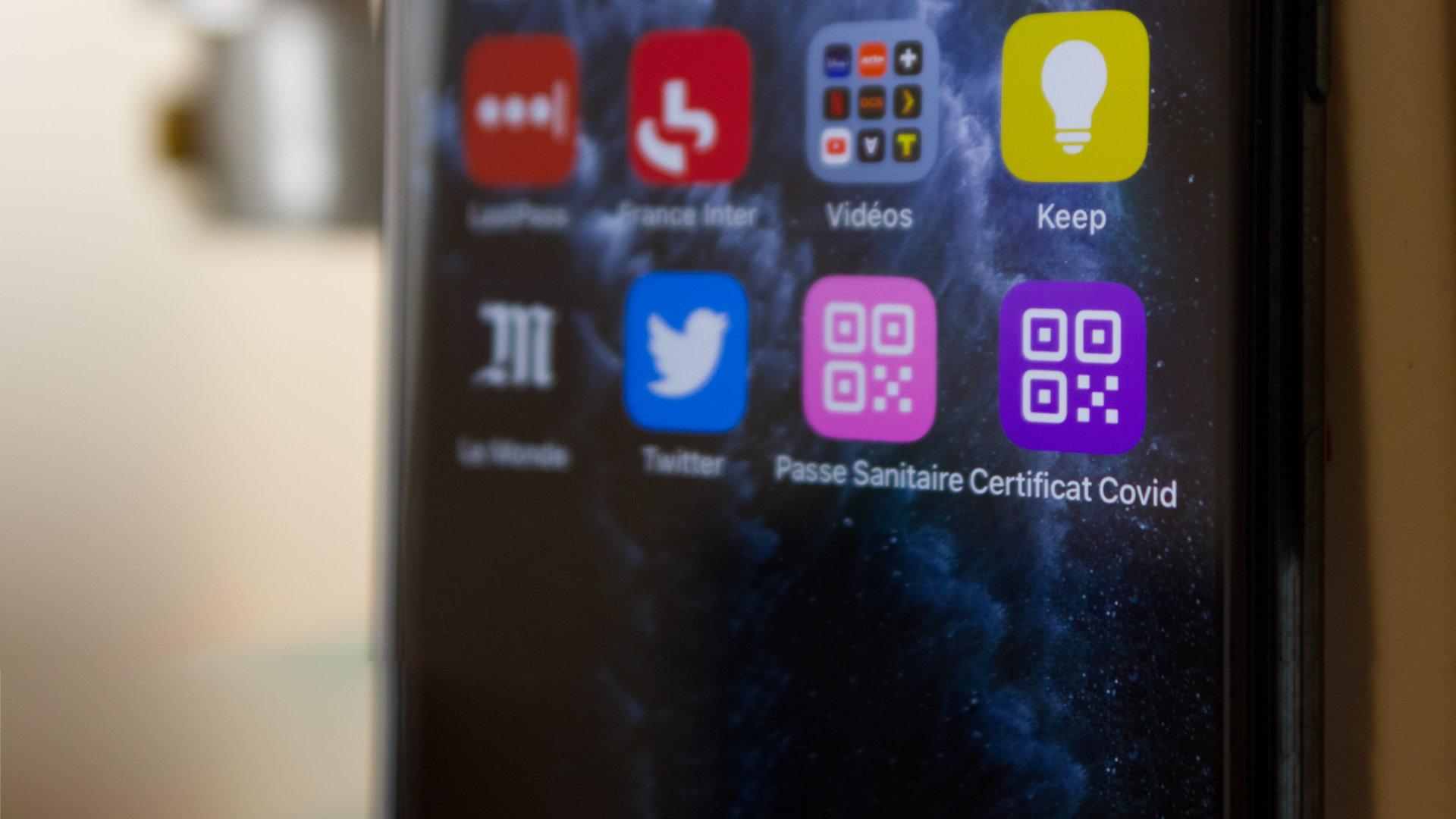 Comment créer un raccourci vers son pass sanitaire sur iPhone