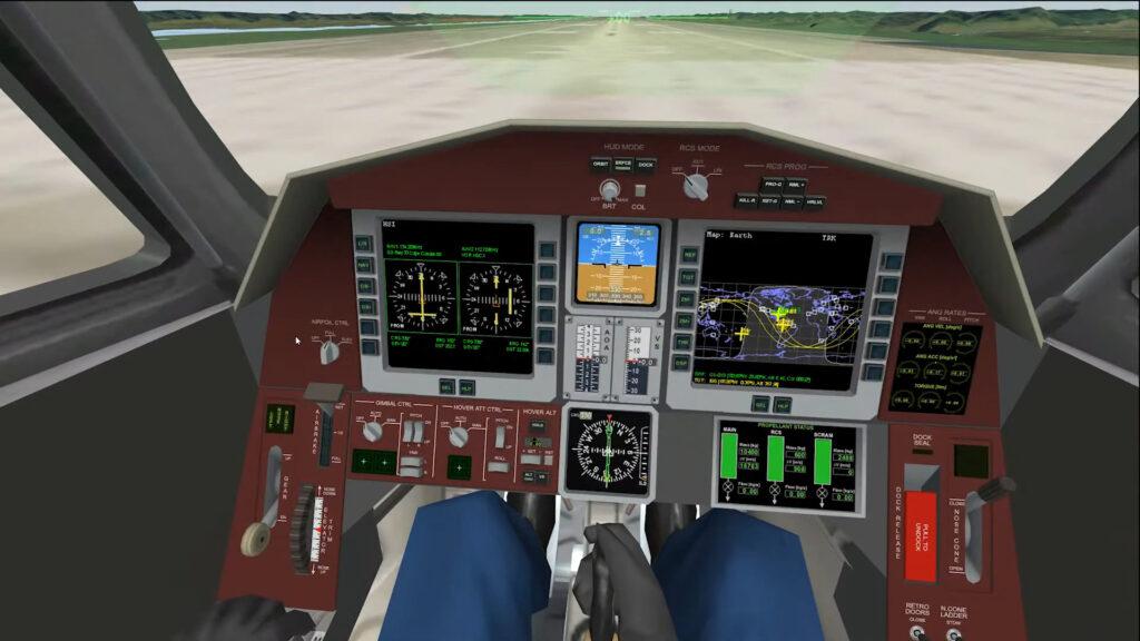 Amusez-vous à faire décoller des fusées avec Orbiter 2016, qui passe open source (vidéo) Par Julien Lausson Orbiter-space-flight-simulator-2016-cockpit-1024x576