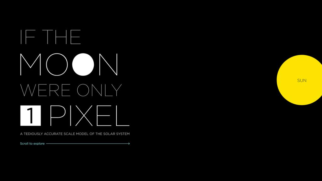 Si la Lune faisait un pixel de diamètre