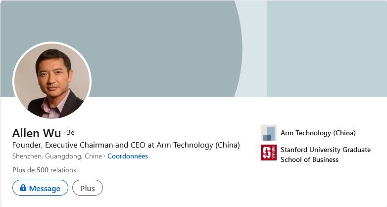 Allen Wu LinkedIn
