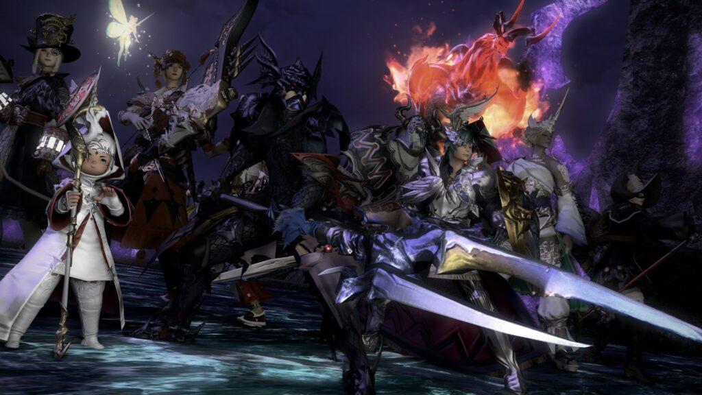 Vues des différentes classes de Final Fantasy XIV