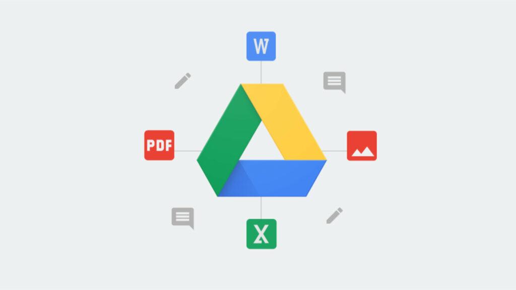Illustration Google Drive