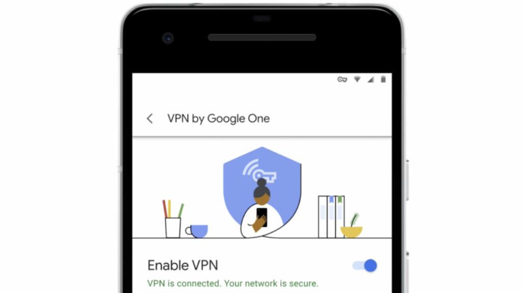 Capture d'écran app VPN Android