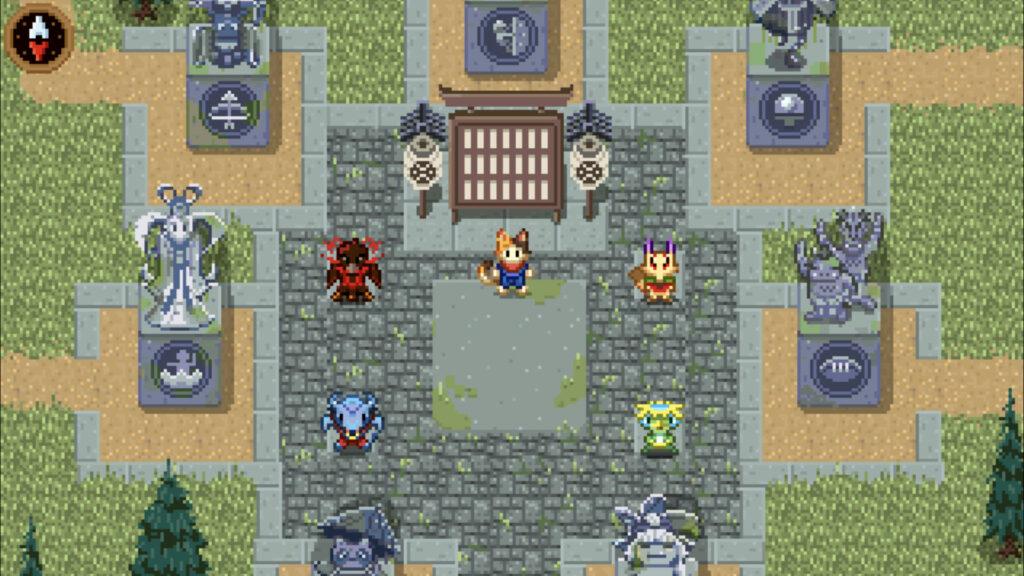 Prise d'écran des chefs des quatre équipes à choix