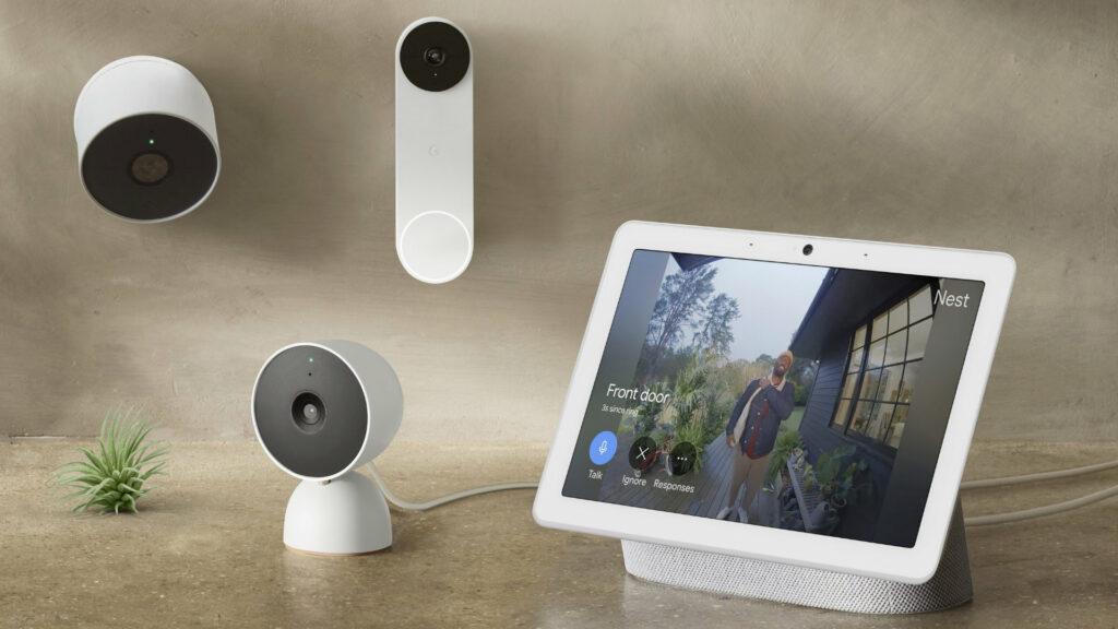 Les nouvelles caméras Nest