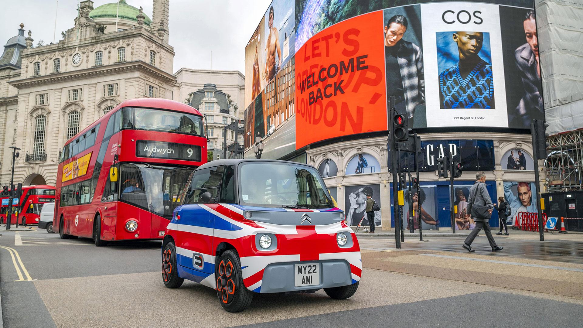 La surprenante petite Citroën AMI séduit de nouveaux pays européens