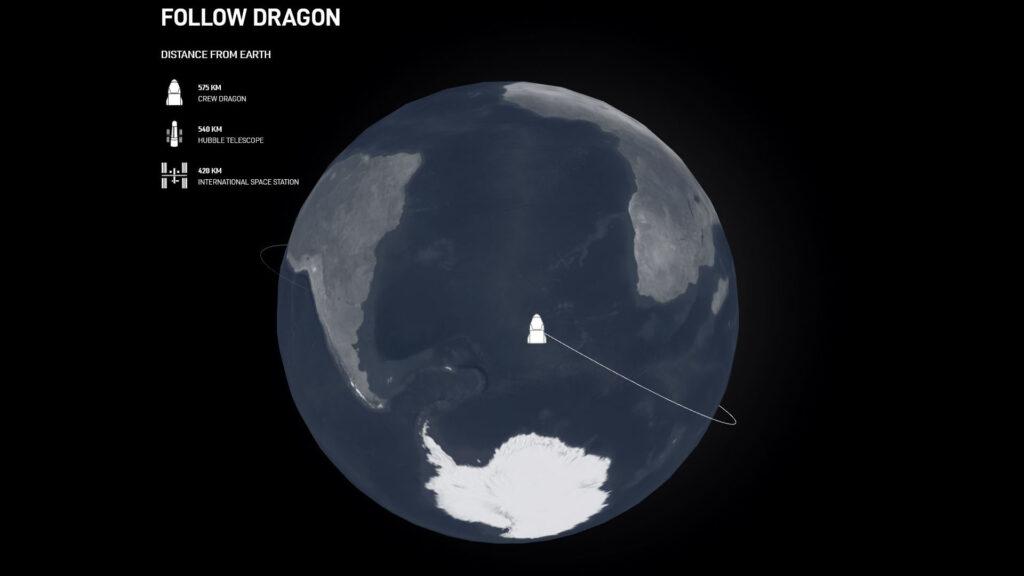 Follow Crew Dragon Inspiration4