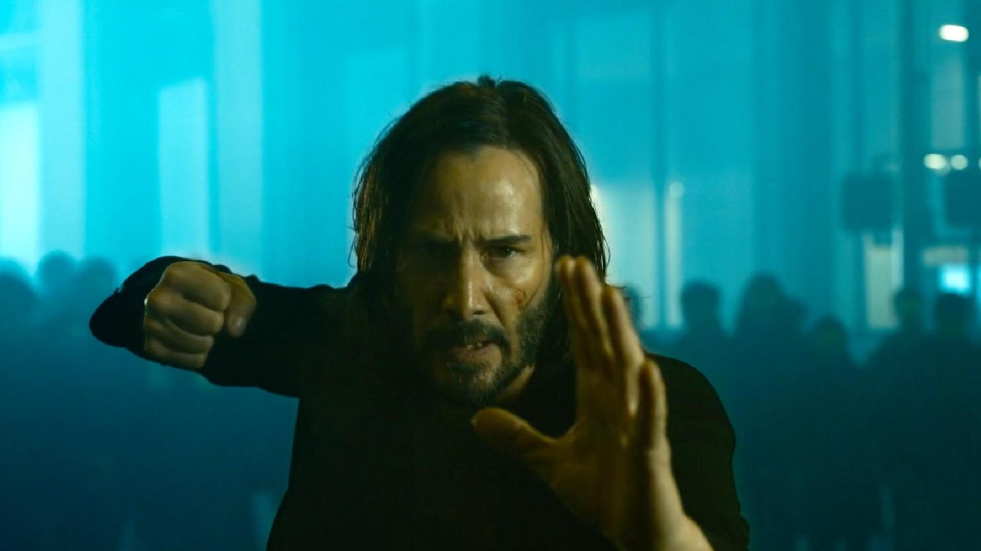 Voici les toutes premières images spectaculaires de Matrix 4 : Resurrections