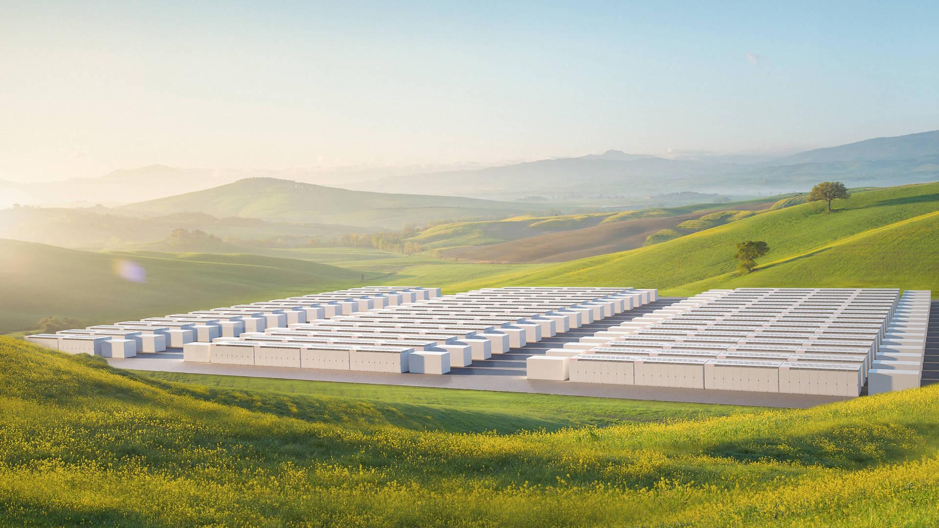 Les batteries géantes de Tesla arrivent en Europe pour emmagasiner l'énergie verte