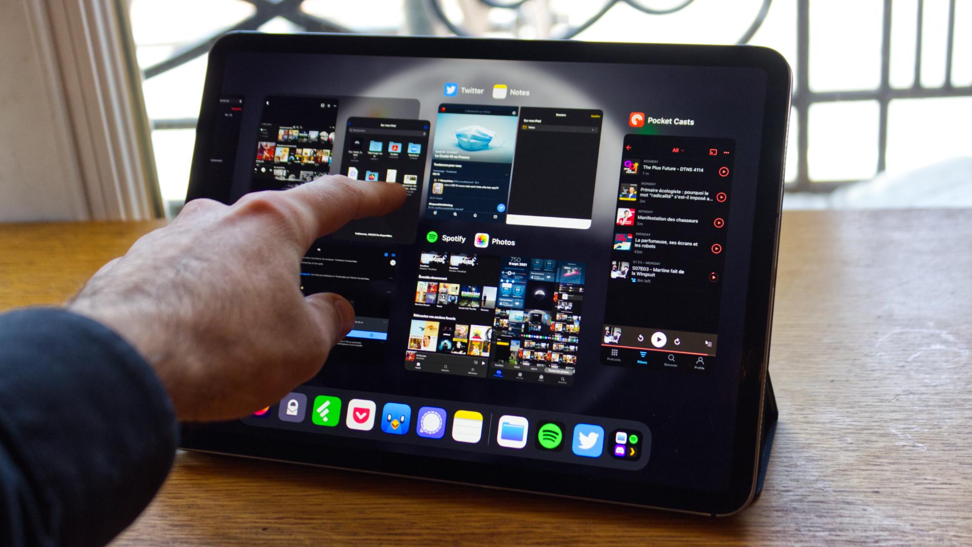 comment maitriser le multitâche sur iPad