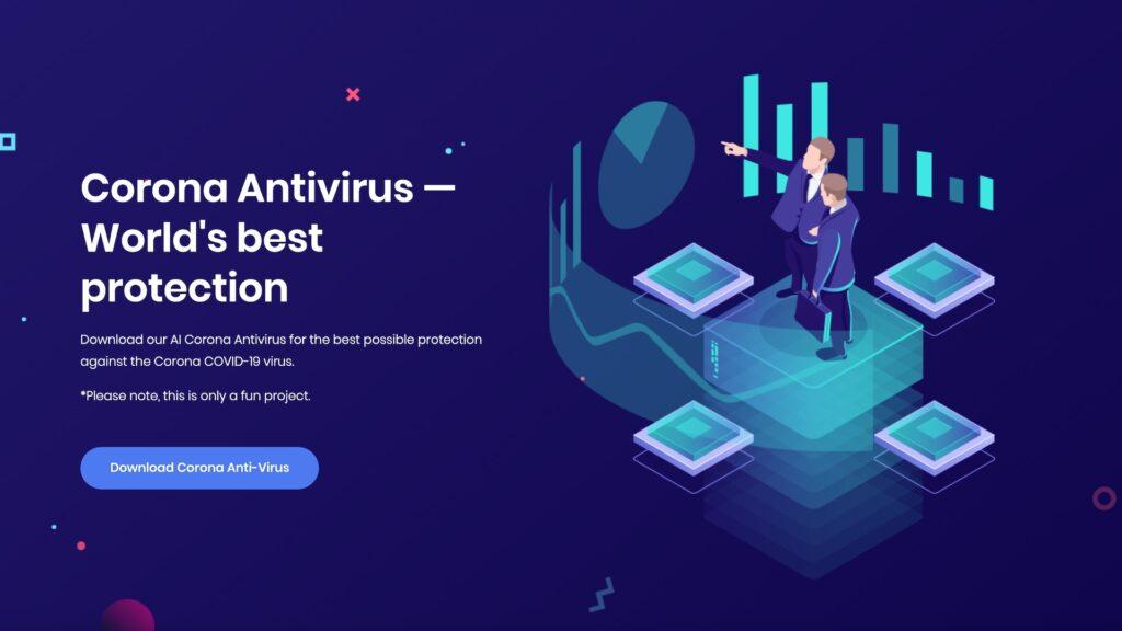 Des cyber-malfrats ont caché un puissant malware dans un faux logiciel anti-coronavirus