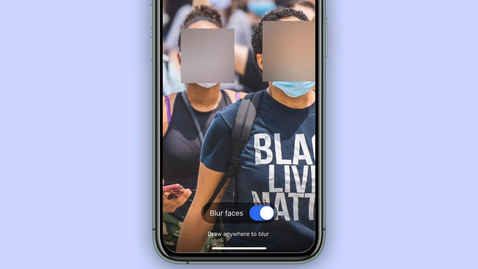 Pour soutenir les manifestants, la messagerie Signal déploie un outil de floutage des visages