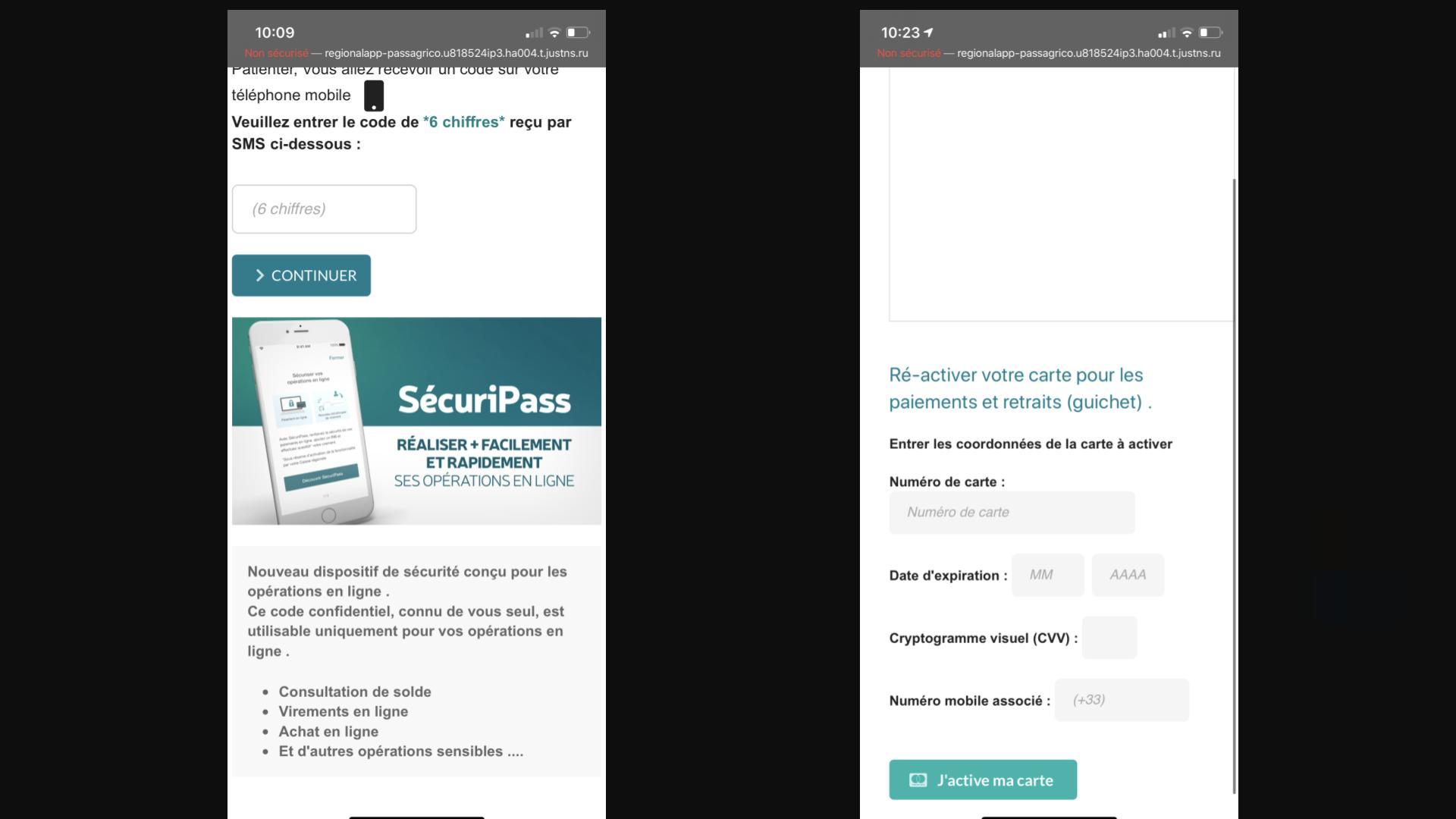 Les Auteurs De Ce Phishing Du Credit Agricole Insistent Vraiment Pour Que Vous Cliquiez Cyberguerre